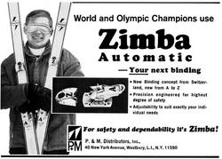 Publicité Zimba 1967