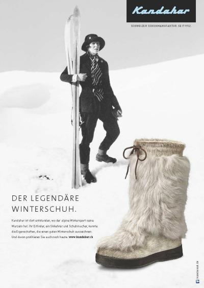 Werbung 2013 mit Foto von 30er Jahre