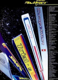 "Publicité 1977 ""SKIING"" Magazine"