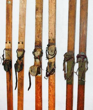 Vintage Authier skis