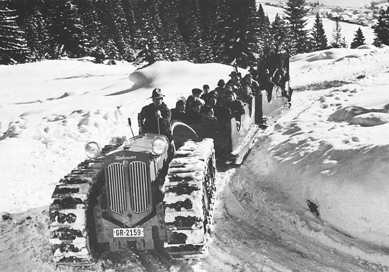 Hürlimann Motor-Schlitten 1939