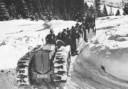 Hürlimann Motor-Sled 1939