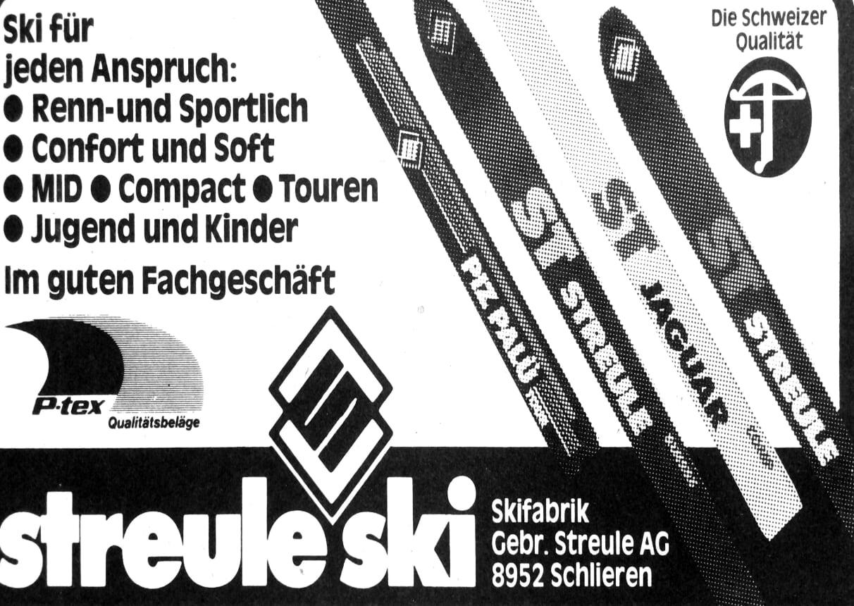 Publicité 1981