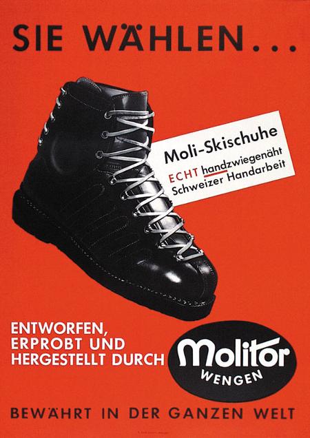 Werbung 1961 von Ruch-Dautle