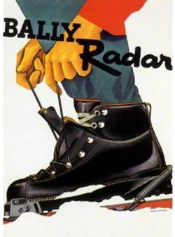 Publicité 1955 de Augsburger