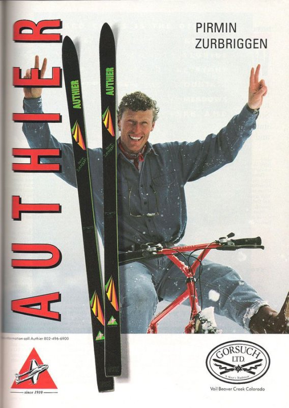 1990 Advert P. Zurbriggen