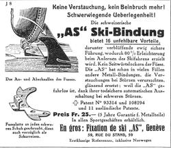 Publicité 1926 Albert Schiess