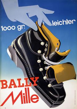 Affiche publicitaire 1955