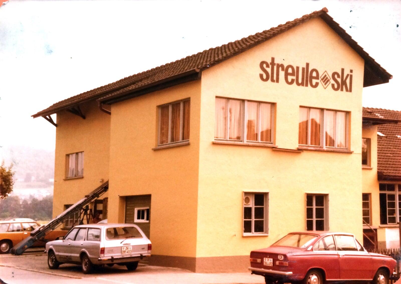 Fabrique Streule ca. 1972