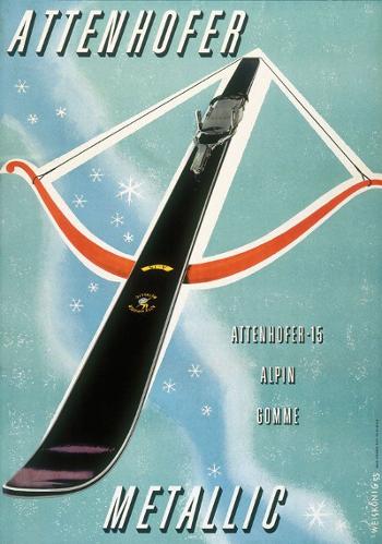Werbung 1955 von W. Weiskonig
