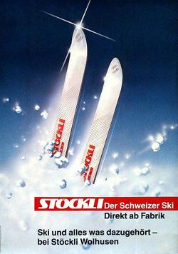 Publicité 1989