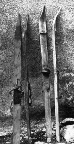 Skis de Champfèr 1892