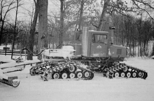 First Tucker Snow Cats 1946