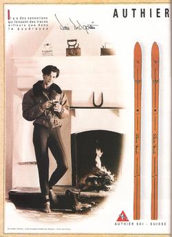 Publicité 1990 Doris  de Agostini