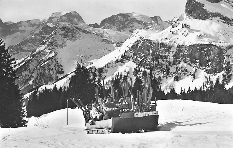Sled-Cable-Lift 1937