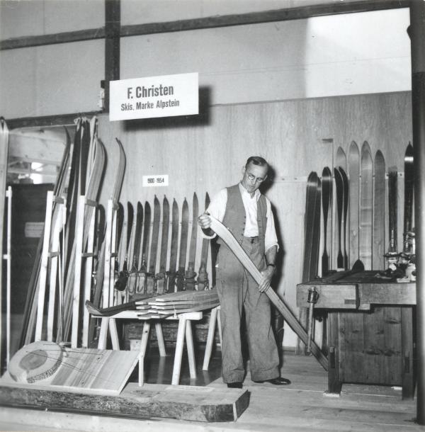 JOHANNES CHRISTEN 1954