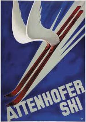 Werbung 1935  von Carl Moos