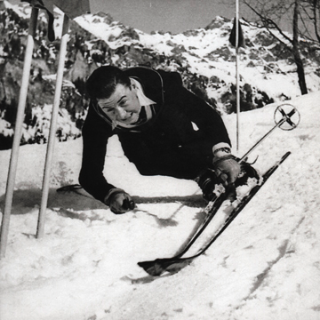 Sieg im Lauberhorn in '39