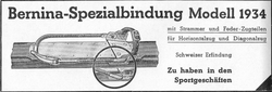 Publicité Bernina 1934