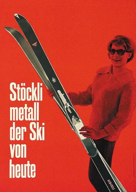 Werbung 1973 von Weiss - Perret