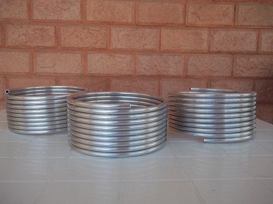 Serpentina em alumínio