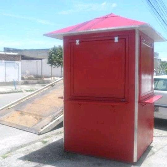 Quiosque para chaveiro 1,40 x 1,40. www.