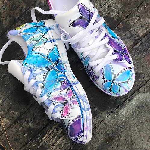 Adidas Stan smith personnalisées Custom Butterfly Edition