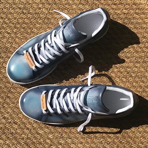 Adidas Stan smith personnalisées Custom Grey