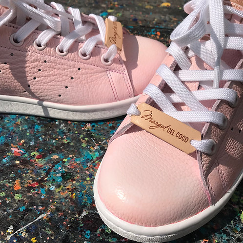 Adidas Stan Smith personnalisées Custom Les Roses