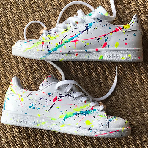 Adidas Stan Smith personnalisées Projections Custom