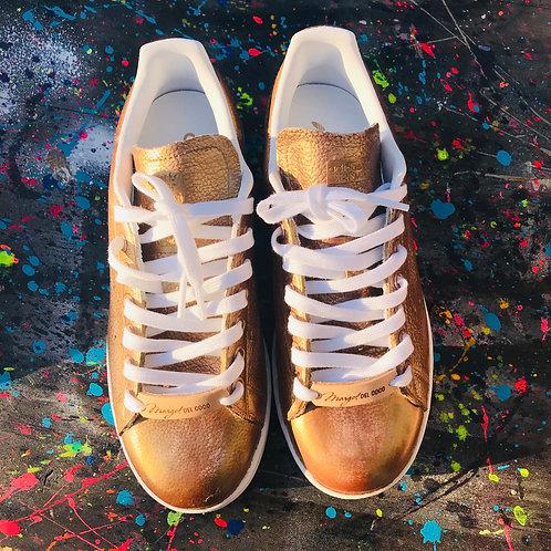 Adidas Stan Smith personnalisées Bronze Custom