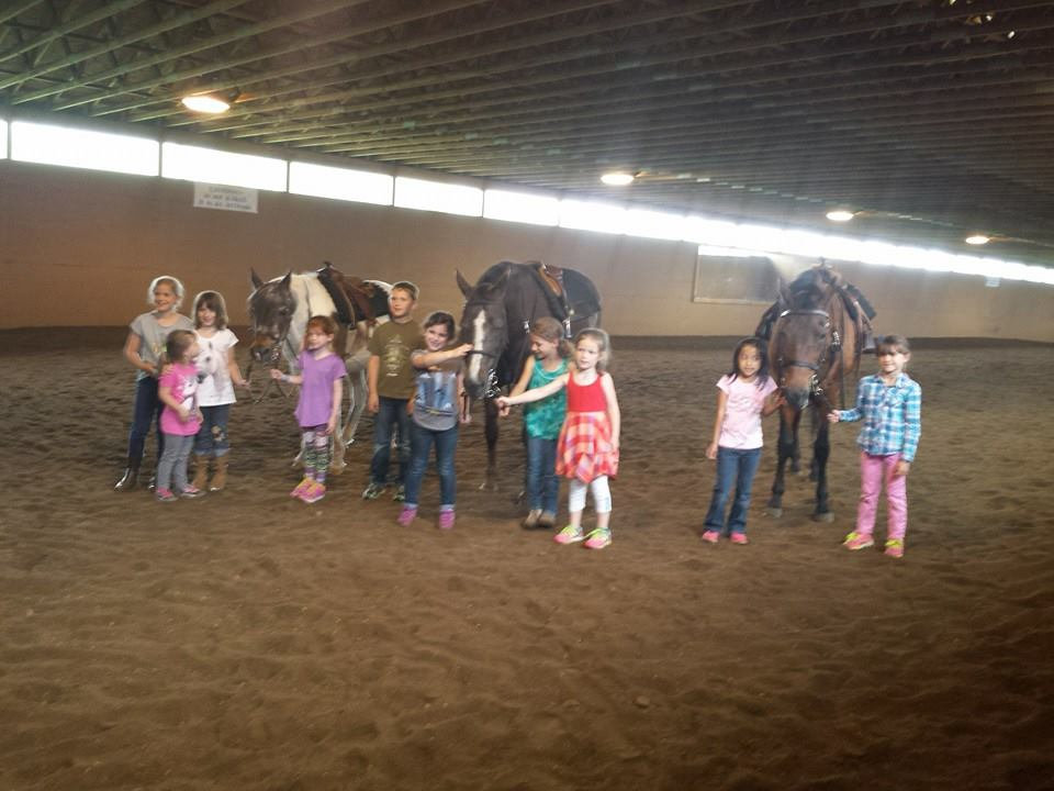 Tiny Tots 1 Day Horse Camp (Ages 5-7)