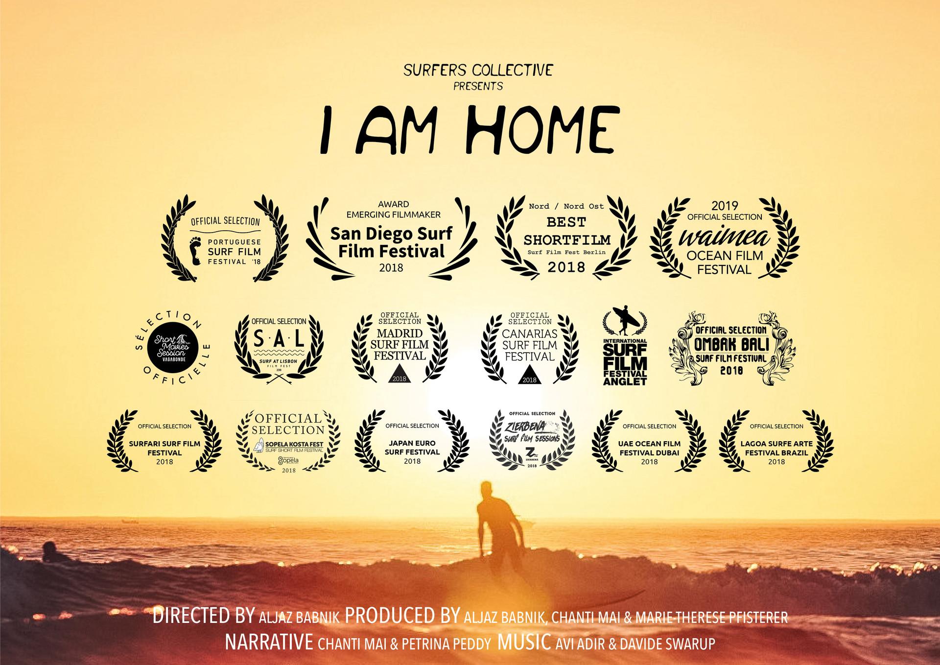 I AM HOME