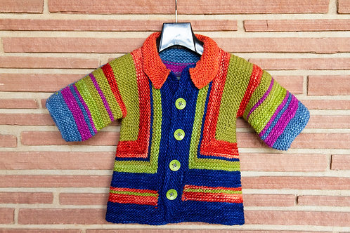 Primary Colors Child's Sweater