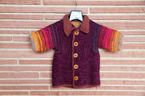 Fall Colors Child's Sweater