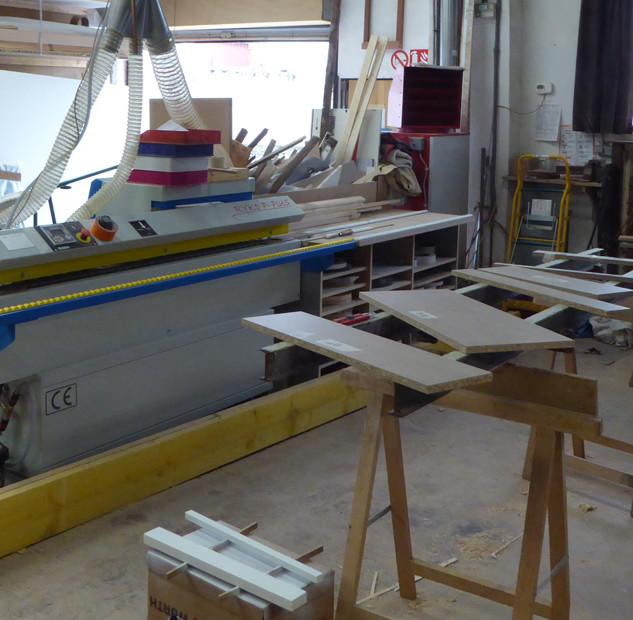 L'atelier de le Menuiserie des Rossignols