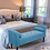 Thumbnail: Serene Decor Bedroom Bench with Rolled Arms (Sapphire Blue)