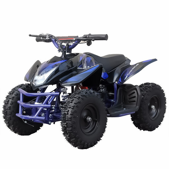 350W 24V Titan Electric ATV Mini Quad Four Wheeler for Kids (Blue)