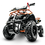 Thumbnail: Sonora 40CC 4-Stroke Gas ATV Four Wheeler Quad for Kids (No CA Sales), Orange