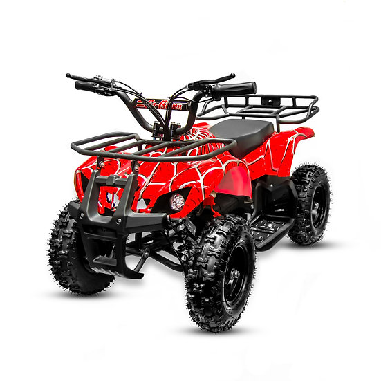 350W 24V Sonora Electric ATV Mini Quad Four Wheeler for Kids (Red Spider)