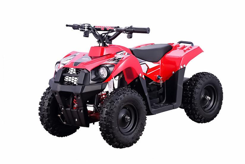 500W 36V Monster Electric ATV Mini Quad Four Wheeler for Kids (Red)