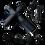 Thumbnail: 3-Speed Cordless Handheld Massage Gun (Black)
