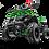Thumbnail: Sonora 40CC 4-Stroke Gas ATV Four Wheeler Quad for Kids (No CA Sales), Green