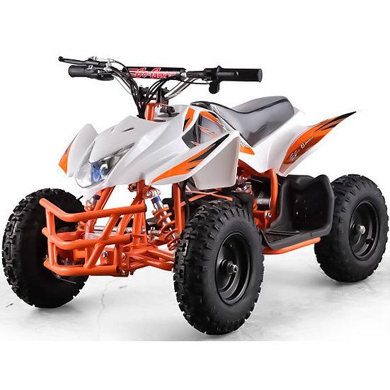 350W 24V Titan Electric ATV Mini Quad Four Wheeler for Kids (White)