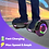 Thumbnail: 6.5'' Hoverboard with LED Lights and Bluetooth for Kids (Chrome Black)