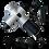 Thumbnail: 3-Speed Cordless Handheld Massage Gun (Silver)