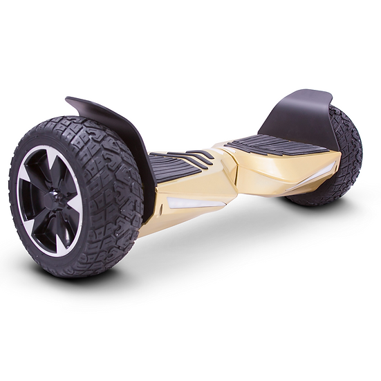 8.5'' Hoverboard with Built-in Bluetooth for Kids and Adults (Gold)