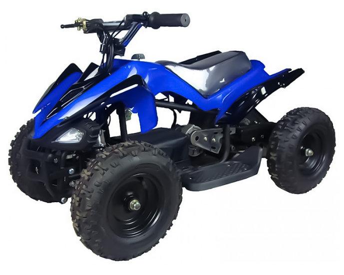 350W 24V Mars Electric ATV Mini Quad Four Wheeler for Kids (Blue)