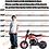 Thumbnail: 2-Stroke 51CC Gas Dirt Bike Mini Motorcycle (EPA Registered, NO CA Sales), Red