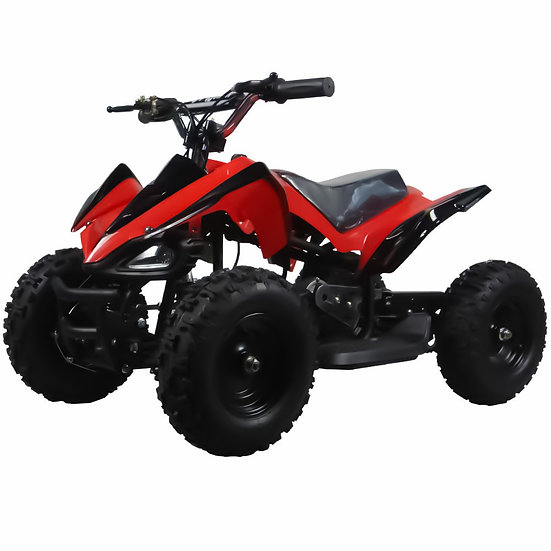 350W 24V Mars Electric ATV Mini Quad Four Wheeler for Kids (Red)